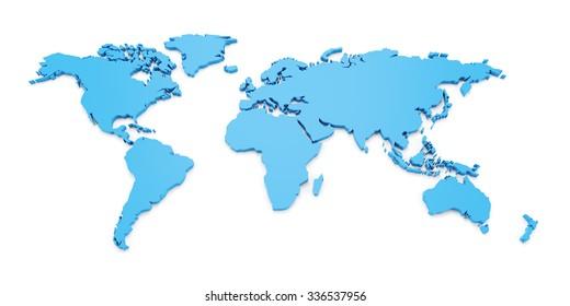 World Map 3d Model.3d World Map Images Stock Photos Vectors Shutterstock
