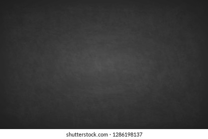 Detailed grunge texture background. Black blackboard. Design rubbed out dirty chalkboard. Old texture, may use as background