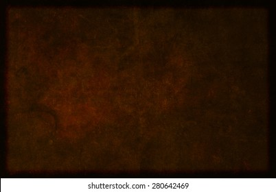 Detailed and textured dark brown background image of a simulated hide-like material.
