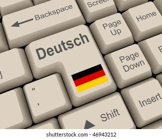 deutsch key