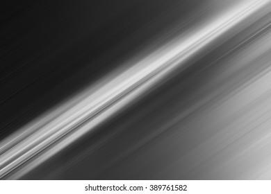 Diagonal black and white motion blur line backdrop