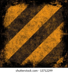 Diagonal hazard stripes texture.  These are weathered, worn and grunge-looking.