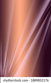 Diagonal shaded stripes on a red-brown gradient background.