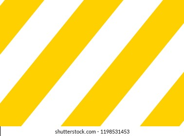 Diagonal stripes yellow and white