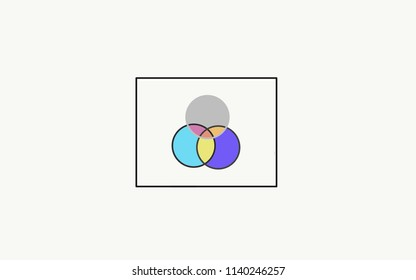Venn diagram logos images stock photos vectors 10 off diagram geometry graphic venn diagram ccuart Gallery