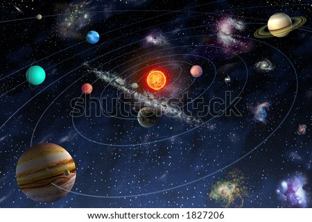 diagram planets solar system stock illustration 1827206 shutterstock Are There Other Solar Systems diagram of the planets in the solar system