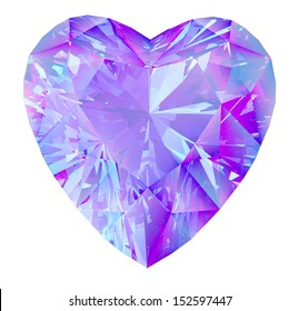diamond heart.