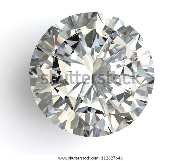 diamond  on white background with high quality