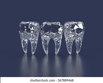 diamond teeth