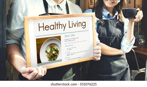 Wellness Diet Plan Healthy Living Icon Stock Photo (Edit Now