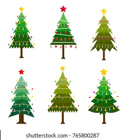 different christmas tree set - Different Kinds Of Christmas Trees