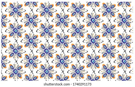 Different patterns created from Turkish evil eye beads