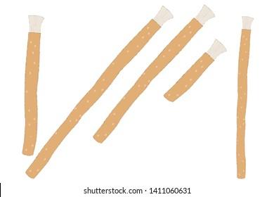 different size miswak stick organic toothbrush