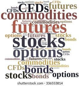 stock bonds options futures