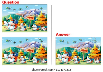 Difficulty Looking Puzzle _ A duck to travel