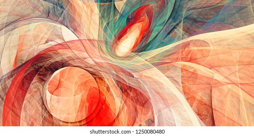 Digital Abstact colorful pattern background-Illustration