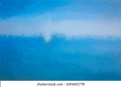 Digital abstract blue and white background
