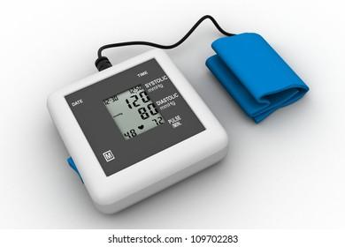Digital blood pressure gauge