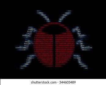 Digital bug / Concept of computer virus or software bug