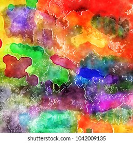 A digital created watercolor paint background effect.