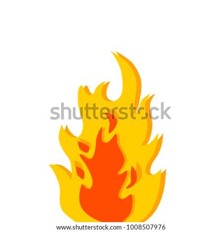 digital drawing fire flames stock illustration 1008507976 shutterstock