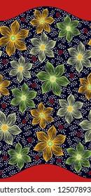 Digital Fabric Design with nevi  background