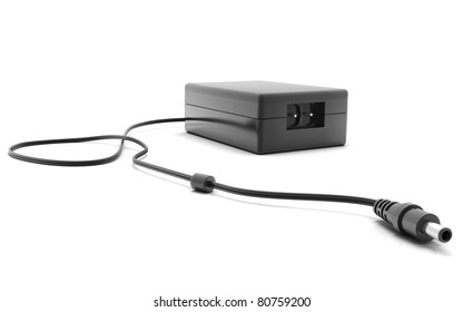 Digital illustration of adapter in isolated  background