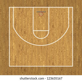 Basketball Half Court Images Stock Photos Vectors Shutterstock
