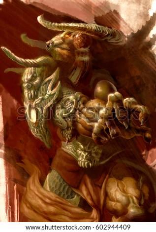 digital illustration of fantasy