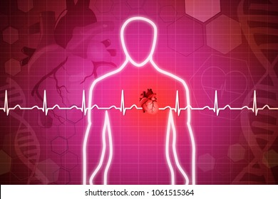 Medical Heart Line Icon Stock Illustrations, Images