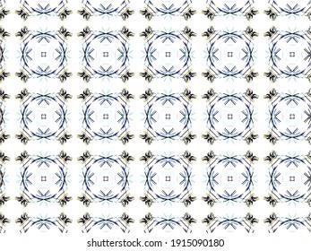Digital Illustration Kaleidoscope Creative Pattern