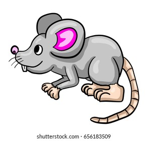 Digital illustration of a mouse
