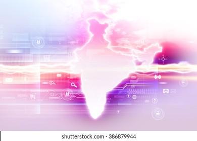 Digital India internet technology