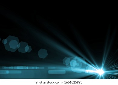 Digital lens Flare, Abstract overlays background.ART