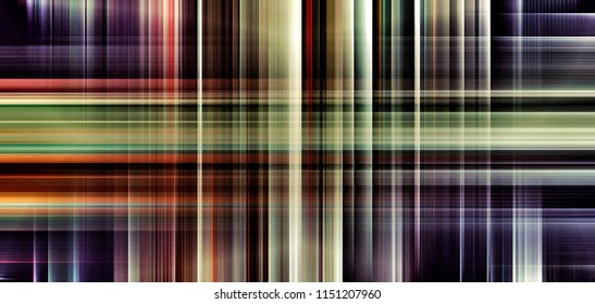 Digital Painting abstract patterns tartan in colorful bright pastel colors background