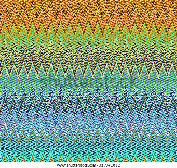 Digital Painting Beautiful Multi-Color Water Color Paint Abstract Wavy Patterns in Different Shades of Yellow, Green and Blue Colors Background