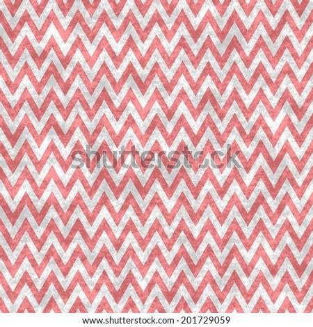 Digital Paper Scrapbook Red Chevron Waves Stock Illustration