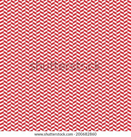 Digital Paper Scrapbook Red Herringbone Pattern Stock Illustration
