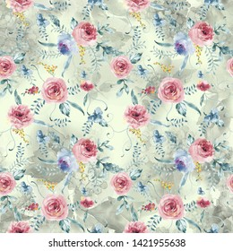 digital print flower print repeat file