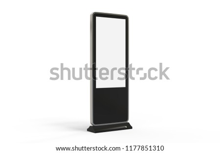Digital Screen Display Stand LCD High Stock Illustration 40 Best Multimedia Display Stands