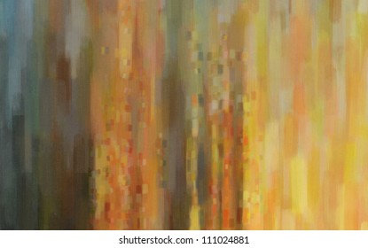 Digital structure of painting. oil paint abstract figure sketch of bright colors on the canvas of a textured background