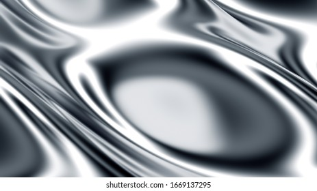 Digital technology abstract background with close up view of a matted metallic 3D surface