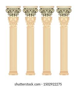 digital textile design pillar and texture