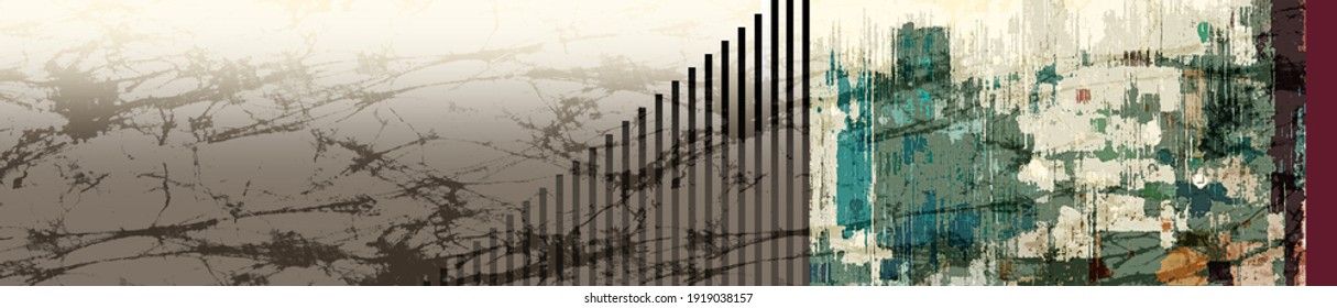 Digital textile saree design illustration