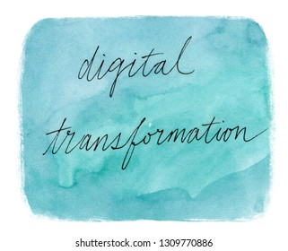 digital transformation concept