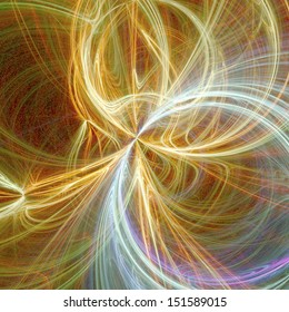digital visualization of a abstract background