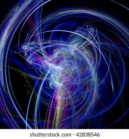 digital visualization of an abstract background