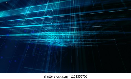 Digitally Generated Network Background