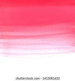 Dip dye background in pastel red