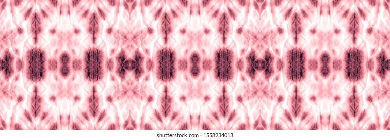 Dip Dye Paper. Space Dye Seamless Print. Abstract Oriental Ethnic Pattern. Gradient Scarlet, Gray On Old Paper. Space Dye Seamless Print. Folklore Design.